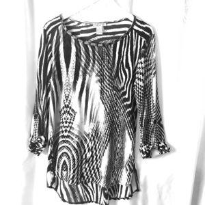 Alberto-Makali women's blouse